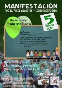 manifestacion 5 mayo