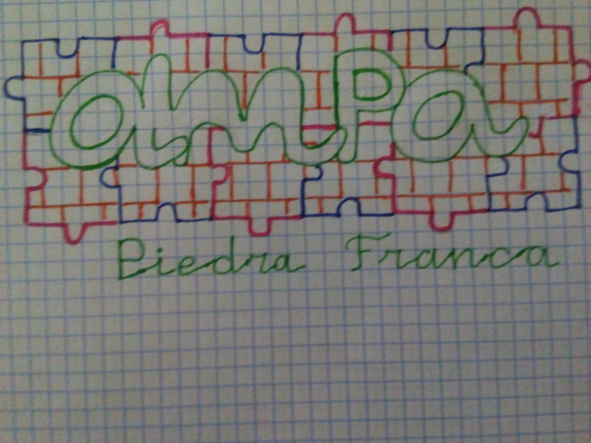 Dibujo de la familia Tomás Alvarado
