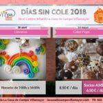 El día 30 de abril y el día 14 de mayo (Festivo en Villamayor) el AMPA subvenciona con 2 € / día