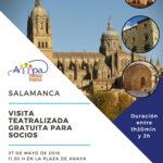 Visita teatralizada a Salamanca