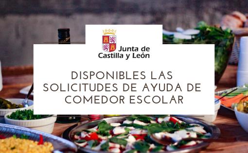 Disponibles las Solicitudes de Ayuda de Comedor Escolar. Periodo Extraordinario de septiembre. Curso 2018/2019