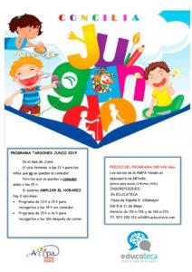 Programa Tardones 2019 (en Educateca)