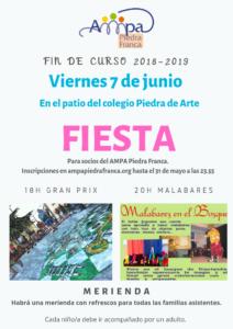 Fiesta Fin de Curso 2018-2019