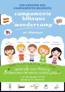 XIII Edición del Campamento Bilingüe de Wonderland